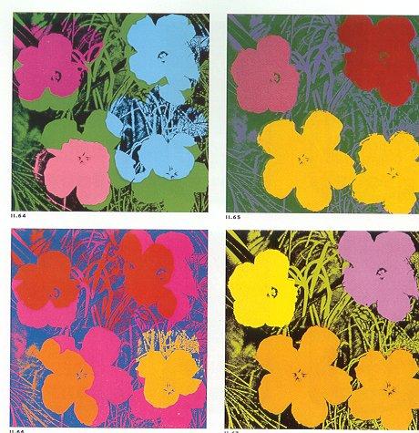 Hibiscus de Andy Warhol en 1970