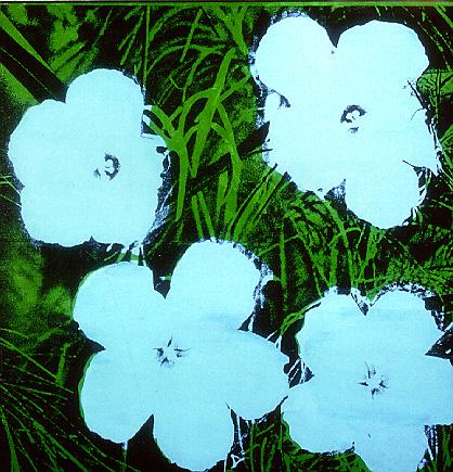 Flowers par Andy Warhol en 1970