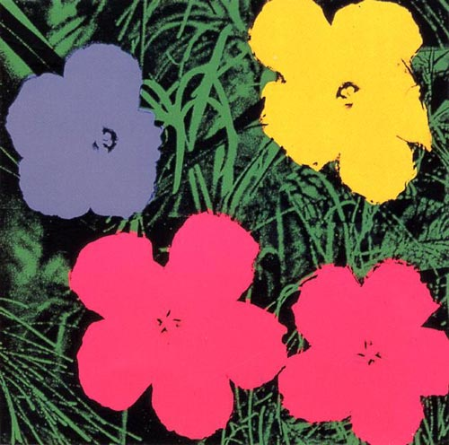 Flowers de Andy Warhol en 1970