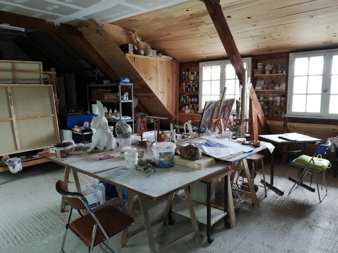 Atelier de Chris Le Guen artiste peintre et sculptrice
