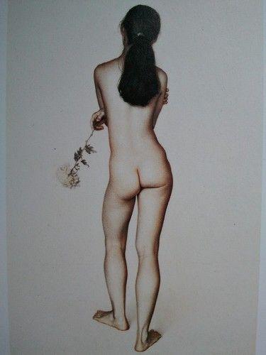 Le Chrysanthème - Claudio Bravo - ©Pinterest