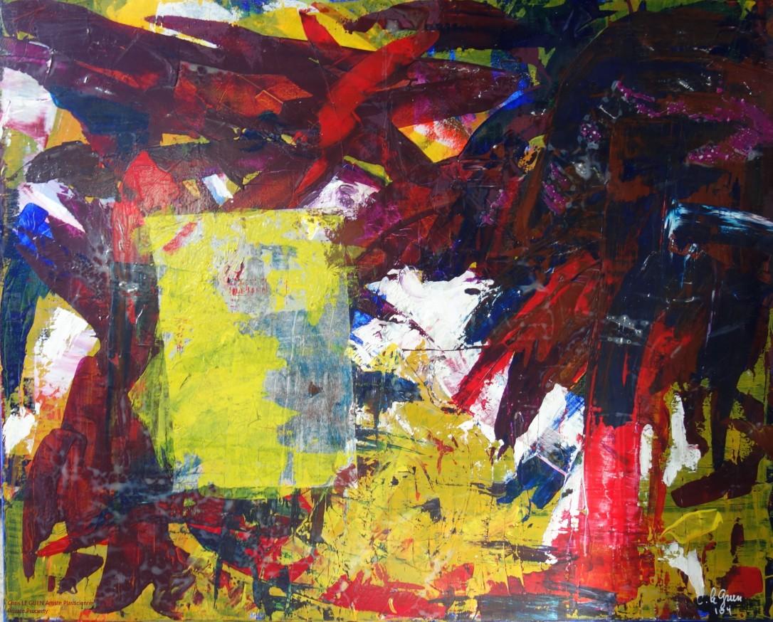 Chris Le Guen Artiste Plasticienne Peintre et Sculptrice a peint N°2
