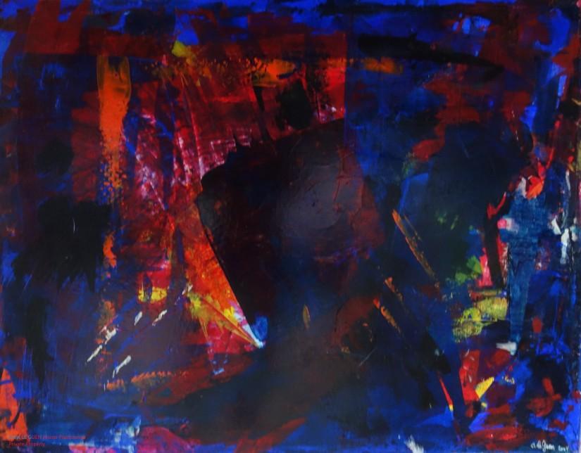 N°25 fait par Chris Le Guen Artiste Plasticienne Peintre et Sculptrice