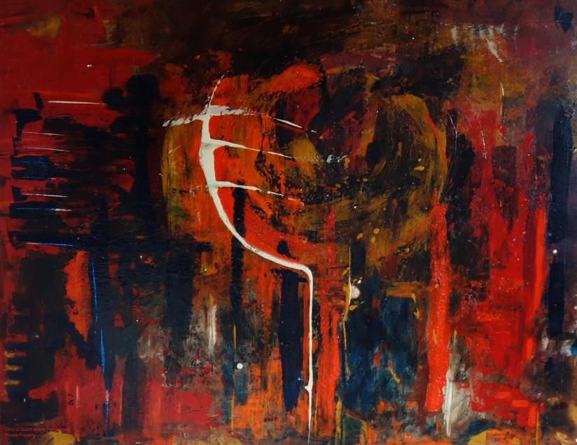 Chris Le Guen Artiste Plasticienne Peintre et Sculptrice a fait N°2