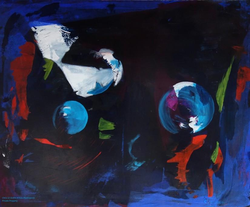 Chris Le Guen Artiste Plasticienne Peintre et Sculptrice a peint n°10