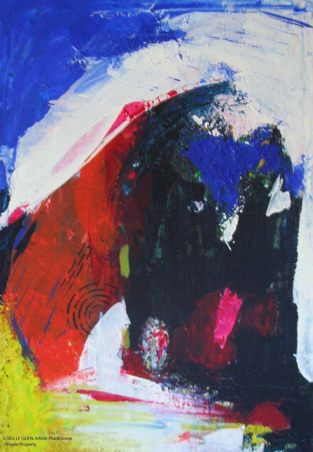 Chris Le Guen Artiste Plasticienne Peintre et Sculptrice créatrice de N°14