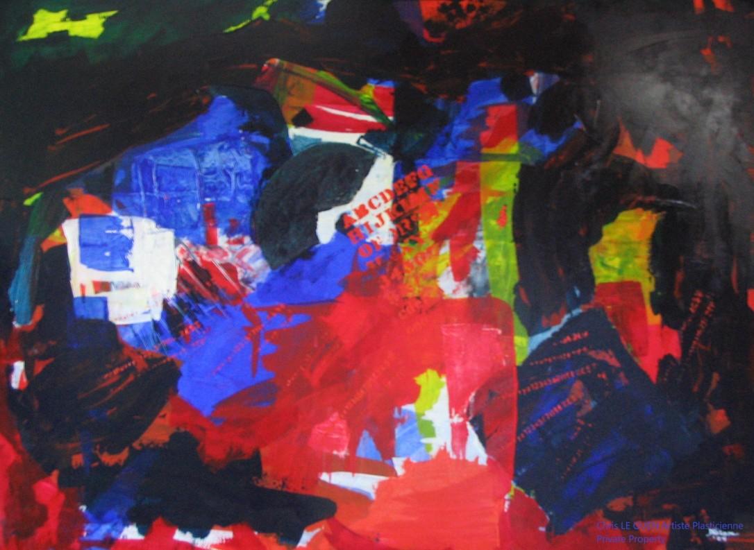 Chris Le Guen Artiste Plasticienne Peintre et Sculptrice créatrice de N°15