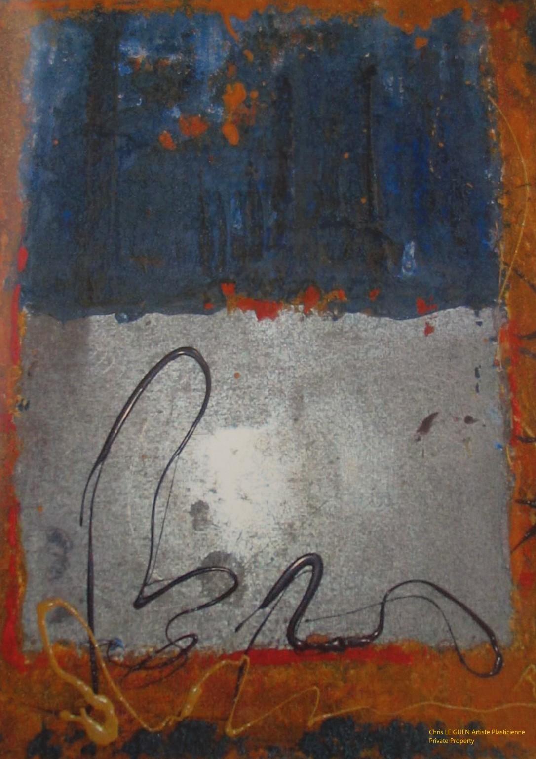 Chris Le Guen Artiste Plasticienne Peintre et Sculptrice peint N°16