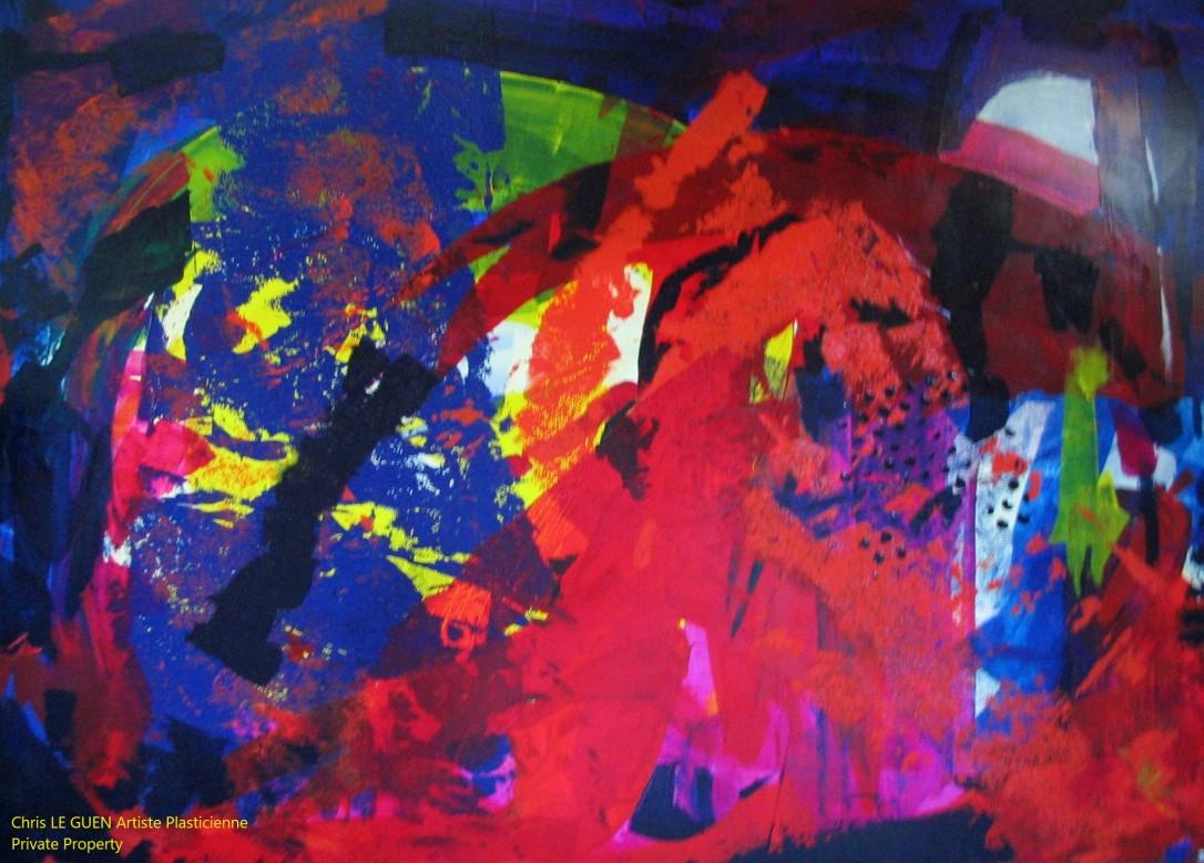 Chris Le Guen Artiste Plasticienne Peintre et Sculptrice créatrice de N°17