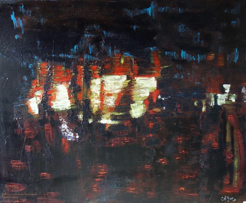 N°18 a été peint par Chris Le Guen Artiste Plasticienne Peintre et Sculptrice