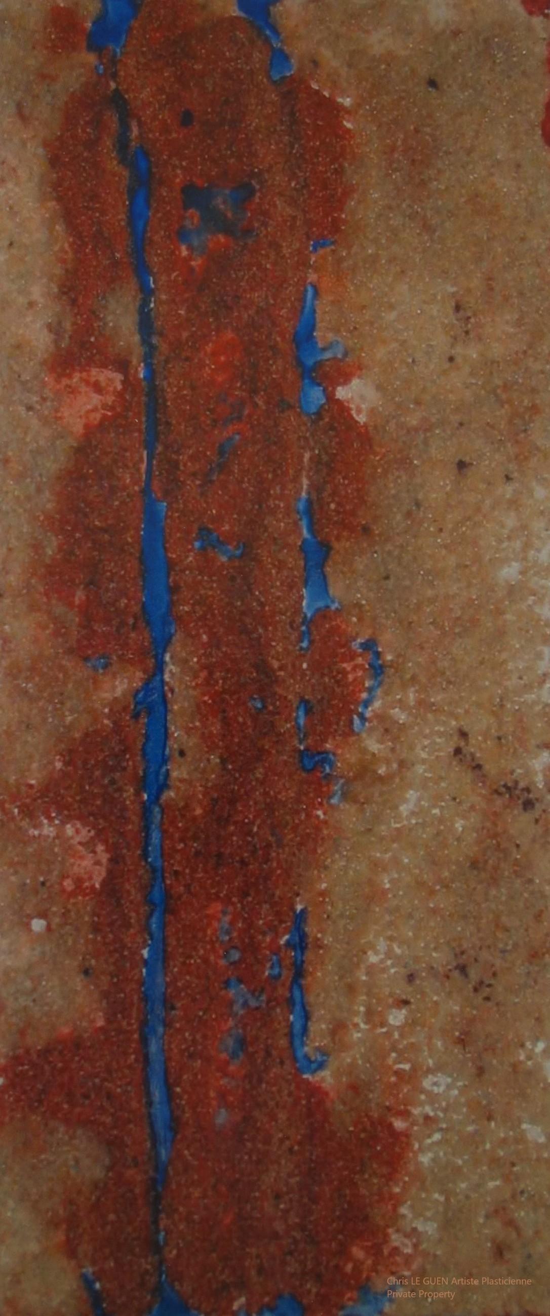 Chris Le Guen Artiste Plasticienne Peintre et Sculptrice peint N°18