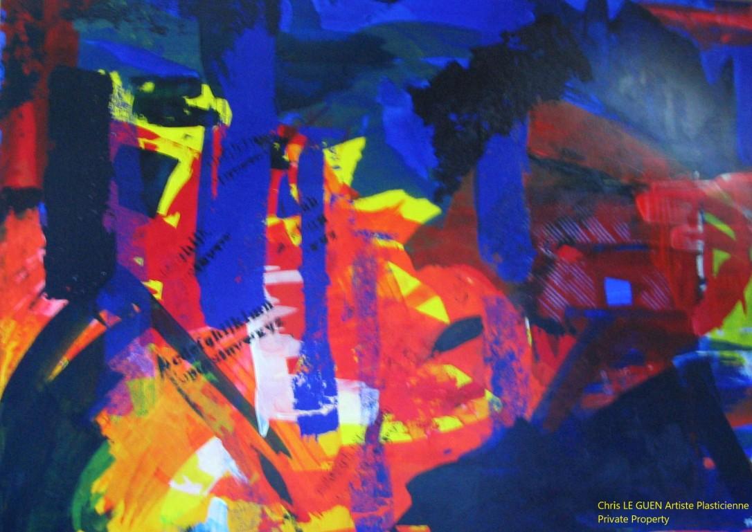 Chris Le Guen Artiste Plasticienne Peintre et Sculptrice créatrice de N°18