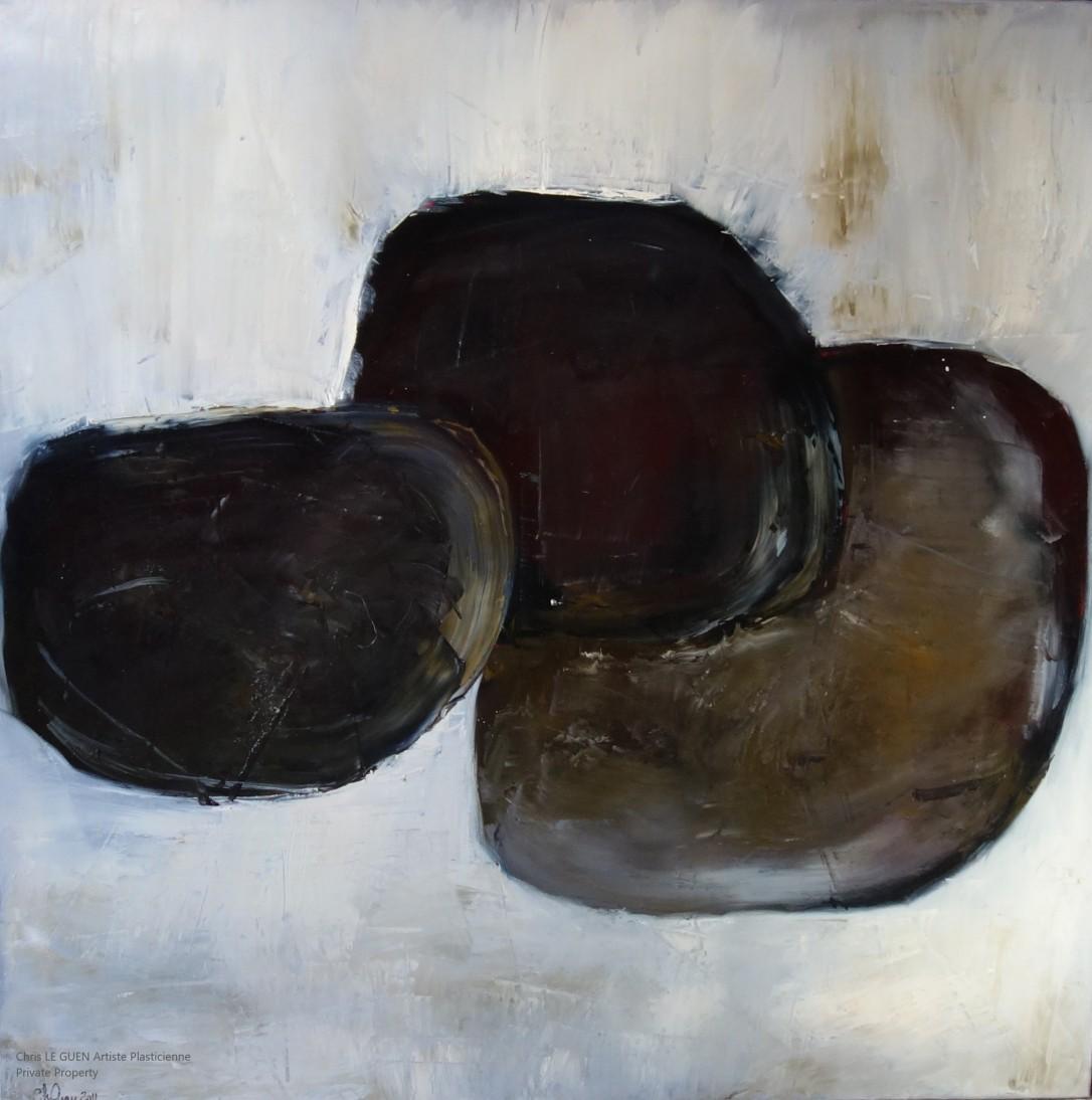 N°18 peint par Chris Le Guen Artiste Plasticienne Peintre et Sculptrice
