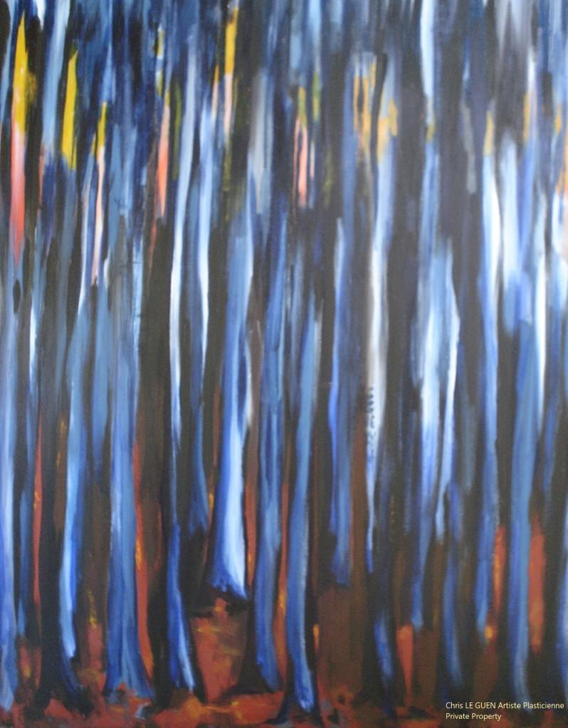 Chris Le Guen Artiste Plasticienne Peintre et Sculptrice peint N°19