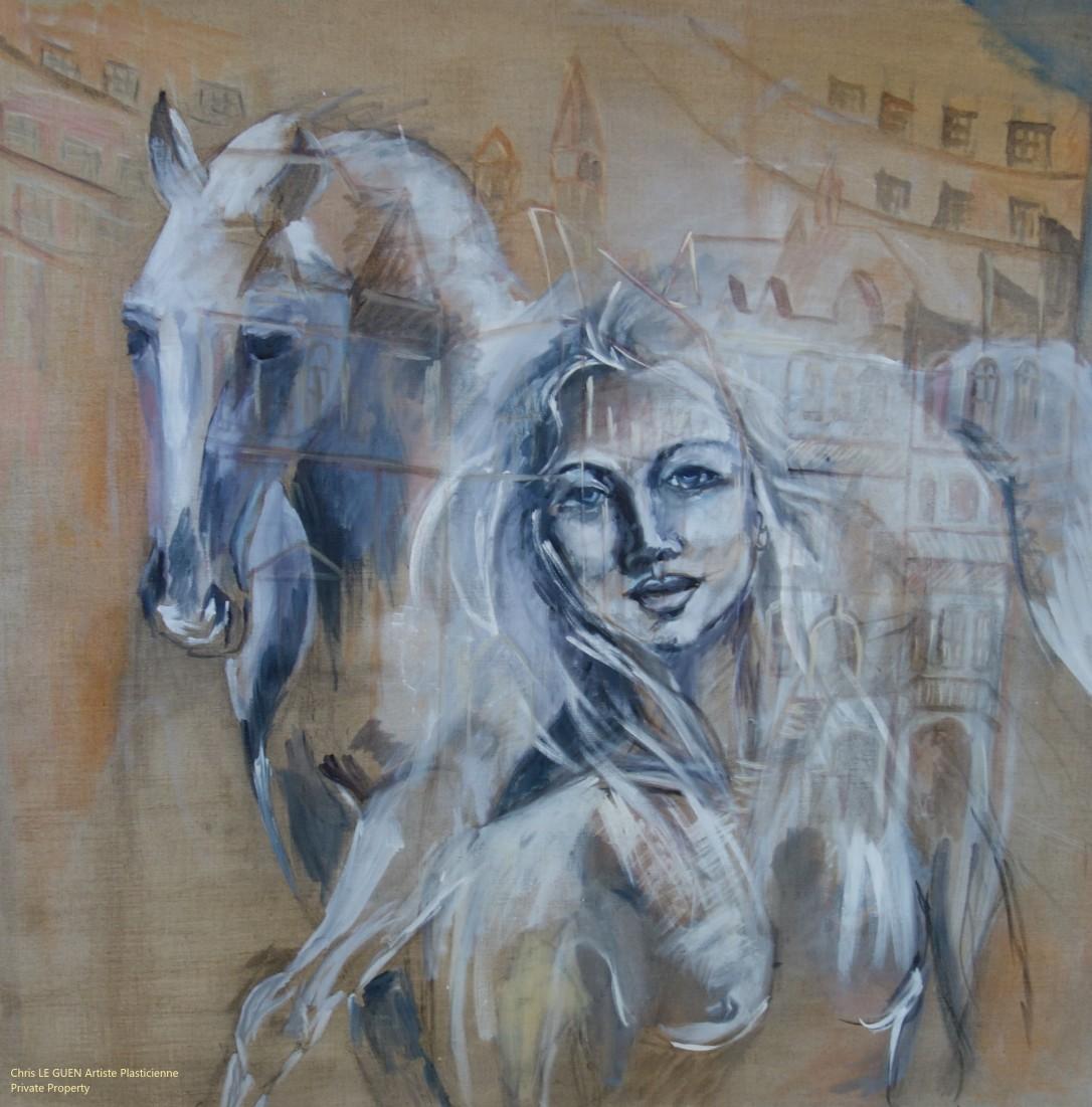 N°2 fait par Chris Le Guen Artiste Plasticienne Peintre et Sculptrice