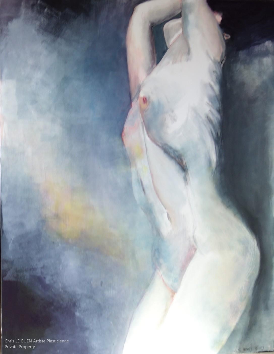 N°2 a été peint par Chris Le Guen Artiste Plasticienne Peintre et Sculptrice