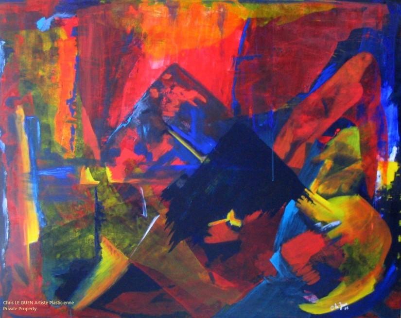 N°20 pensé par Chris Le Guen Artiste Plasticienne Peintre et Sculptrice