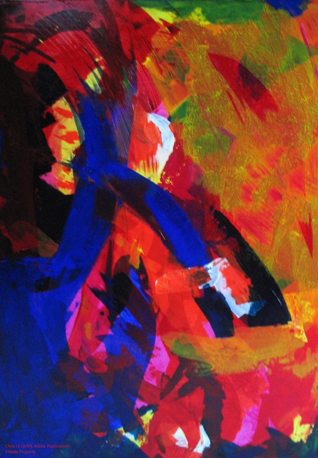 Chris Le Guen Artiste Plasticienne Peintre et Sculptrice créatrice de N°20