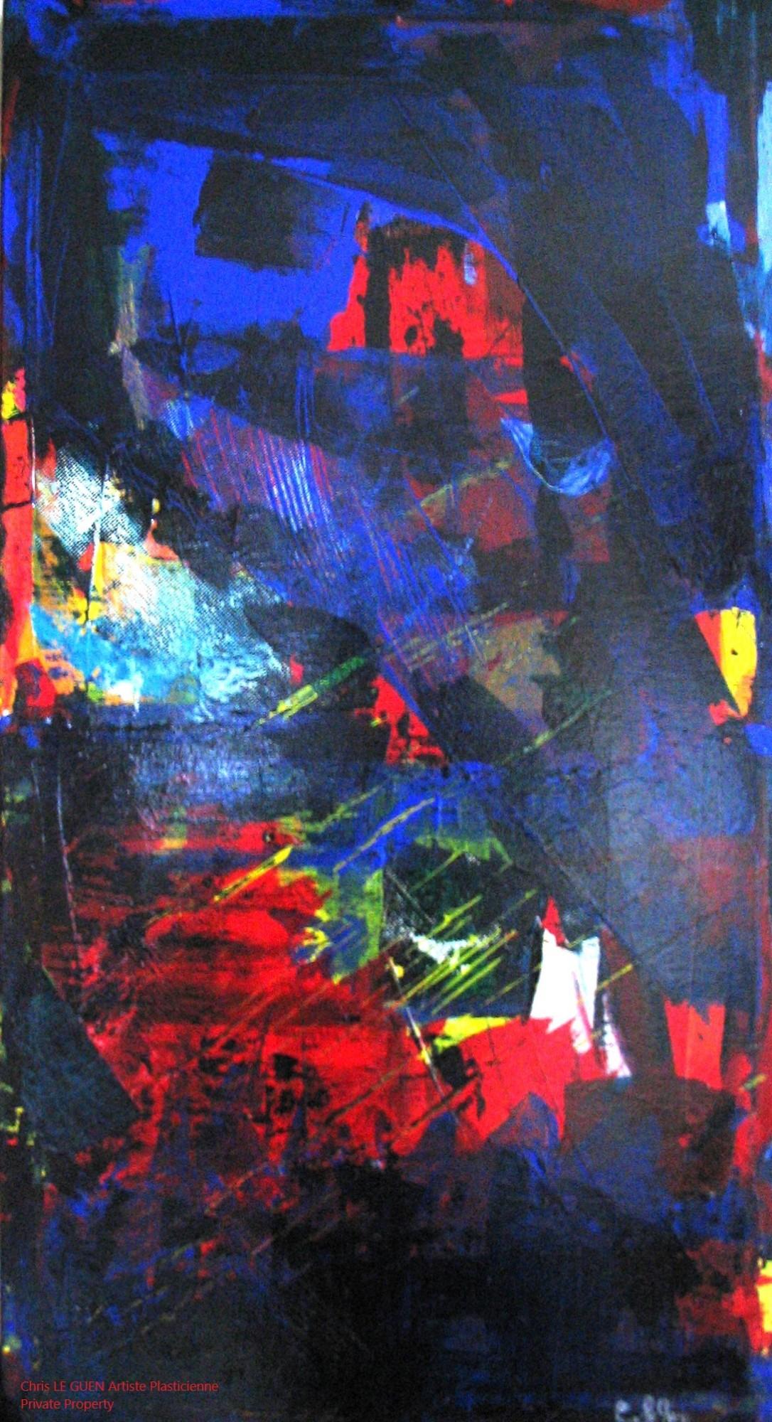 Chris Le Guen Artiste Plasticienne Peintre et Sculptrice a peint N°21