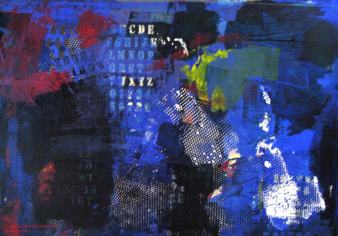 Chris Le Guen Artiste Plasticienne Peintre et Sculptrice a peint N°22