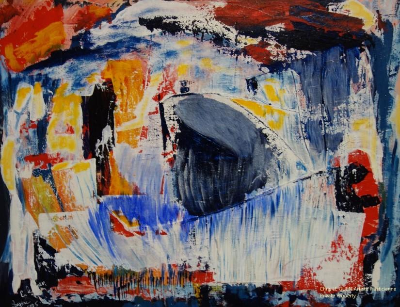 N°24 a été peint par Chris Le Guen Artiste Plasticienne Peintre et Sculptrice