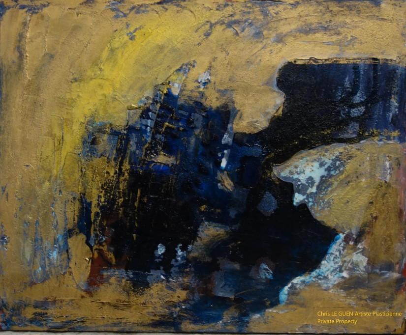 Chris Le Guen Artiste Plasticienne Peintre et Sculptrice a peint N°54