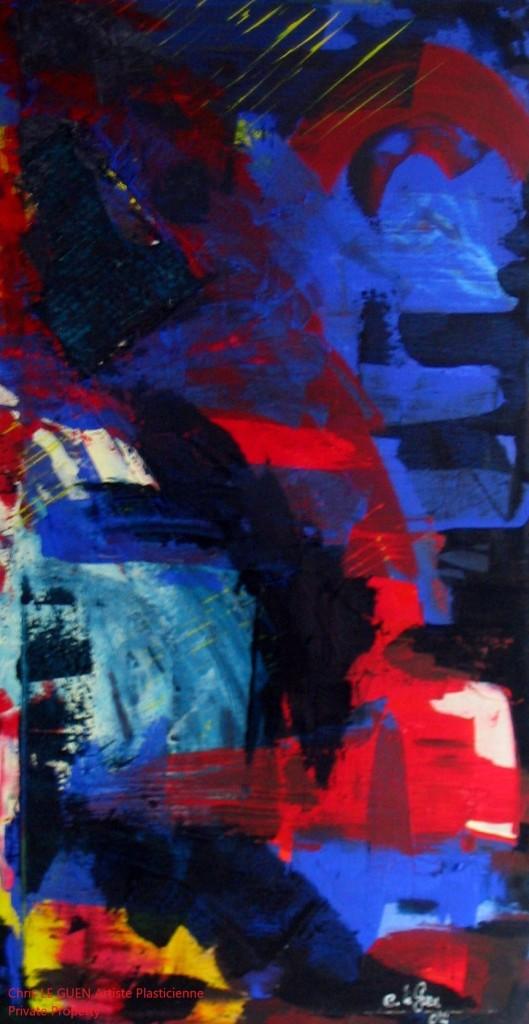 Chris Le Guen Artiste Plasticienne Peintre et Sculptrice a peint N°27