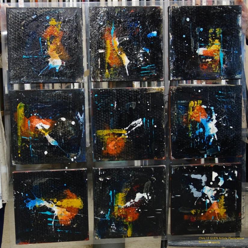 Chris Le Guen Artiste Plasticienne Peintre et Sculptrice a peint et assemblé N°55