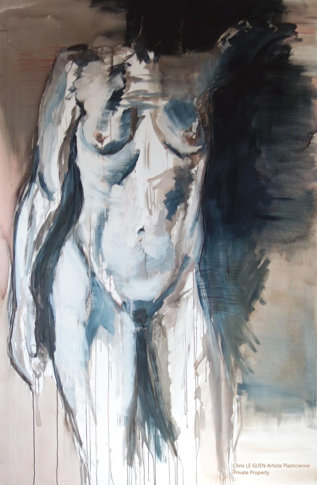 Chris Le Guen Artiste Plasticienne Peintre et Sculptrice a peint N°3