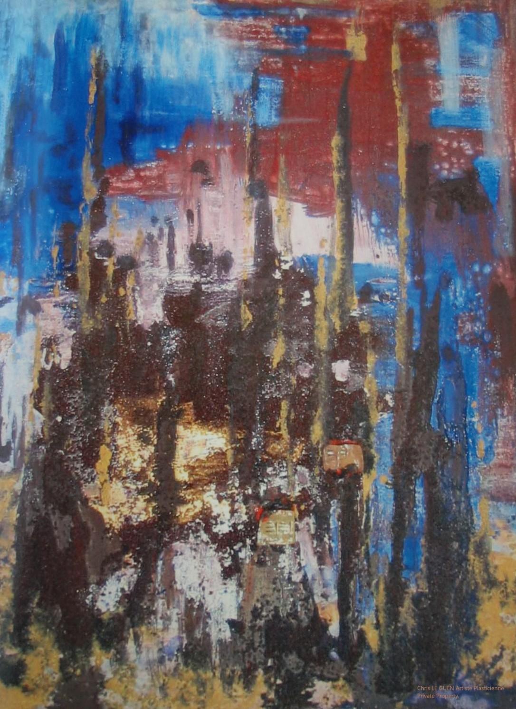 Chris Le Guen Artiste Plasticienne Peintre et Sculptrice peint N°36