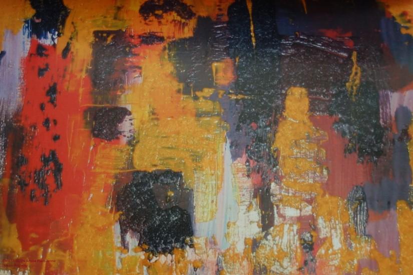 Chris Le Guen Artiste Plasticienne Peintre et Sculptrice peint N°40