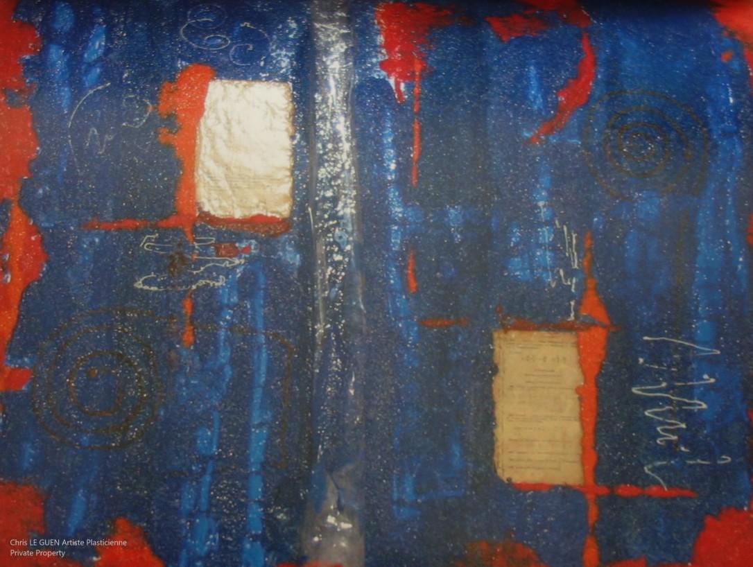 Chris Le Guen Artiste Plasticienne Peintre et Sculptrice créé N°46