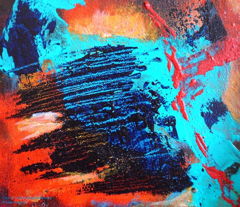 Chris Le Guen Artiste Plasticienne Peintre et Sculptrice peint N°46