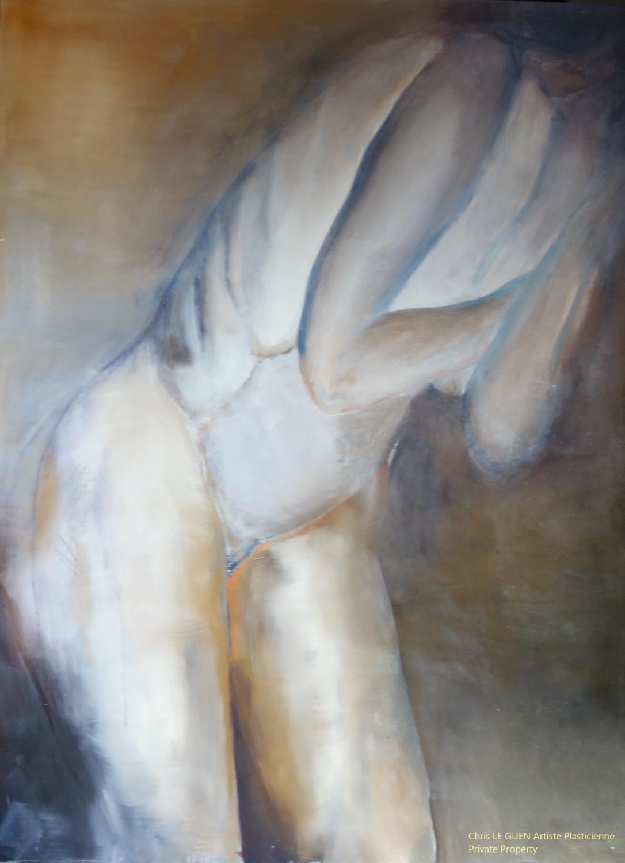 N°5 fait par Chris Le Guen Artiste Plasticienne Peintre et Sculptrice