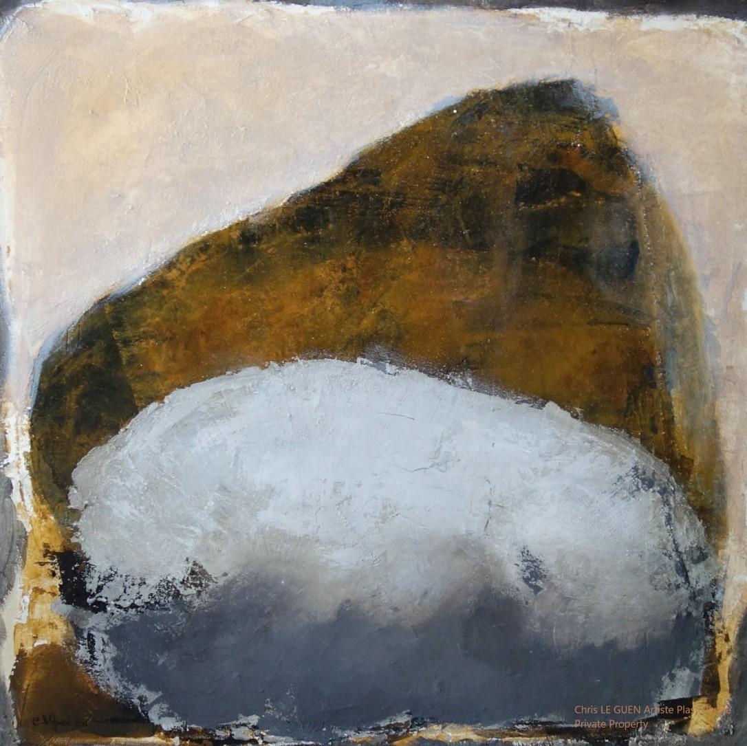 N°8 peint par Chris Le Guen Artiste Plasticienne Peintre et Sculptrice