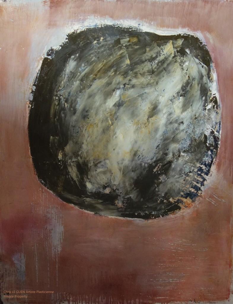 N°8 bis a été peint par Chris Le Guen Artiste Plasticienne Peintre et Sculptrice
