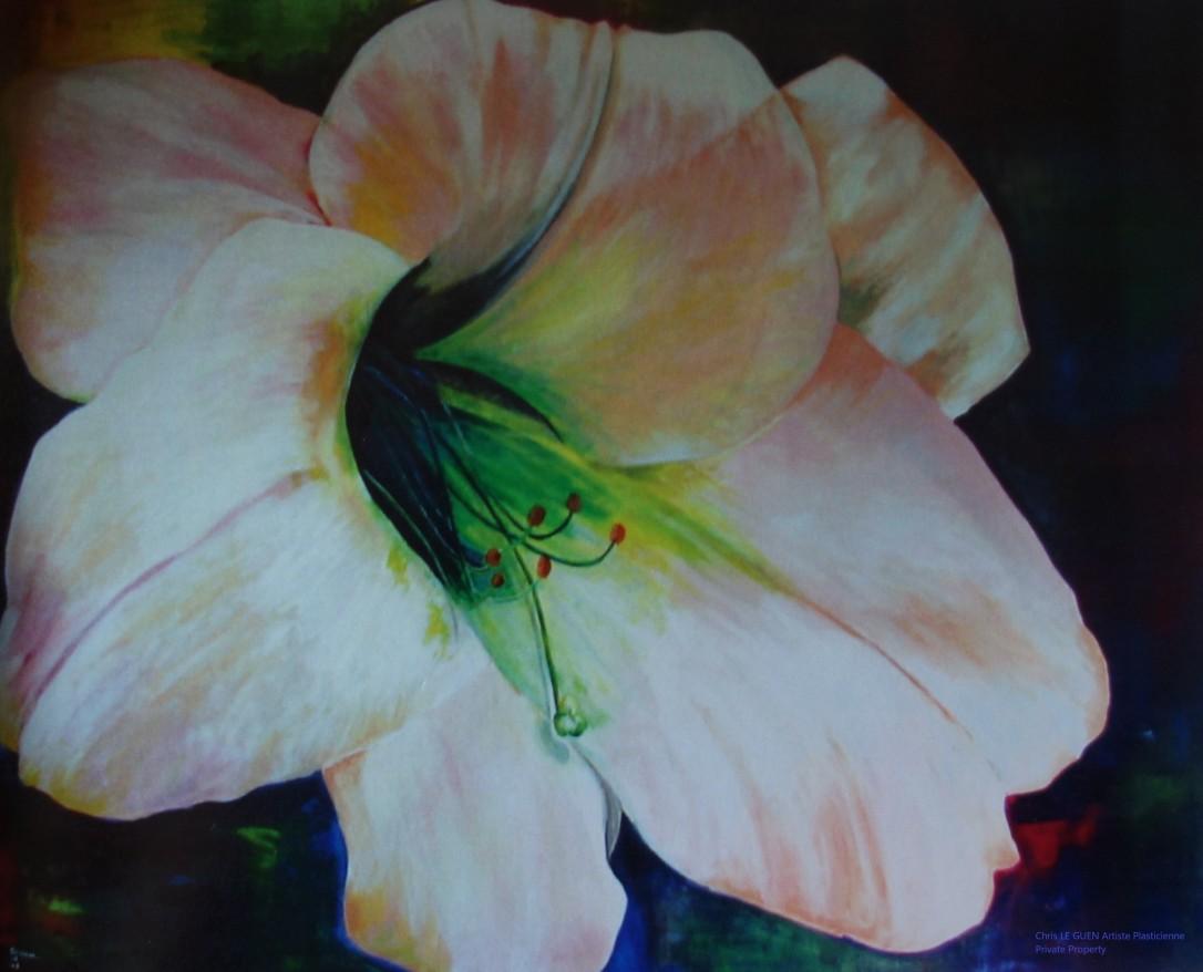 Primaire VI a été peint par Chris Le Guen Artiste Plasticienne Peintre et Sculptrice