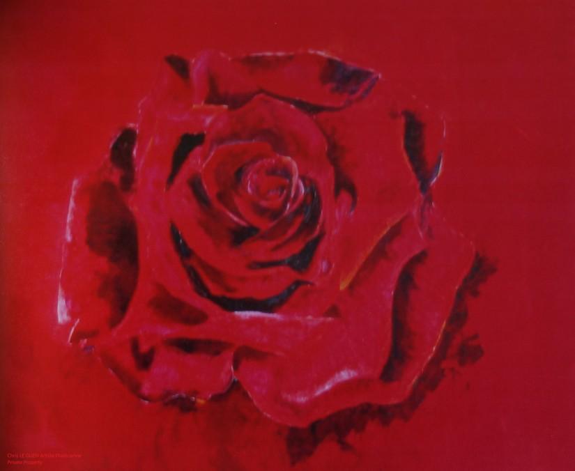 Primaire VIII fait par Chris Le Guen Artiste Plasticienne Peintre et Sculptrice