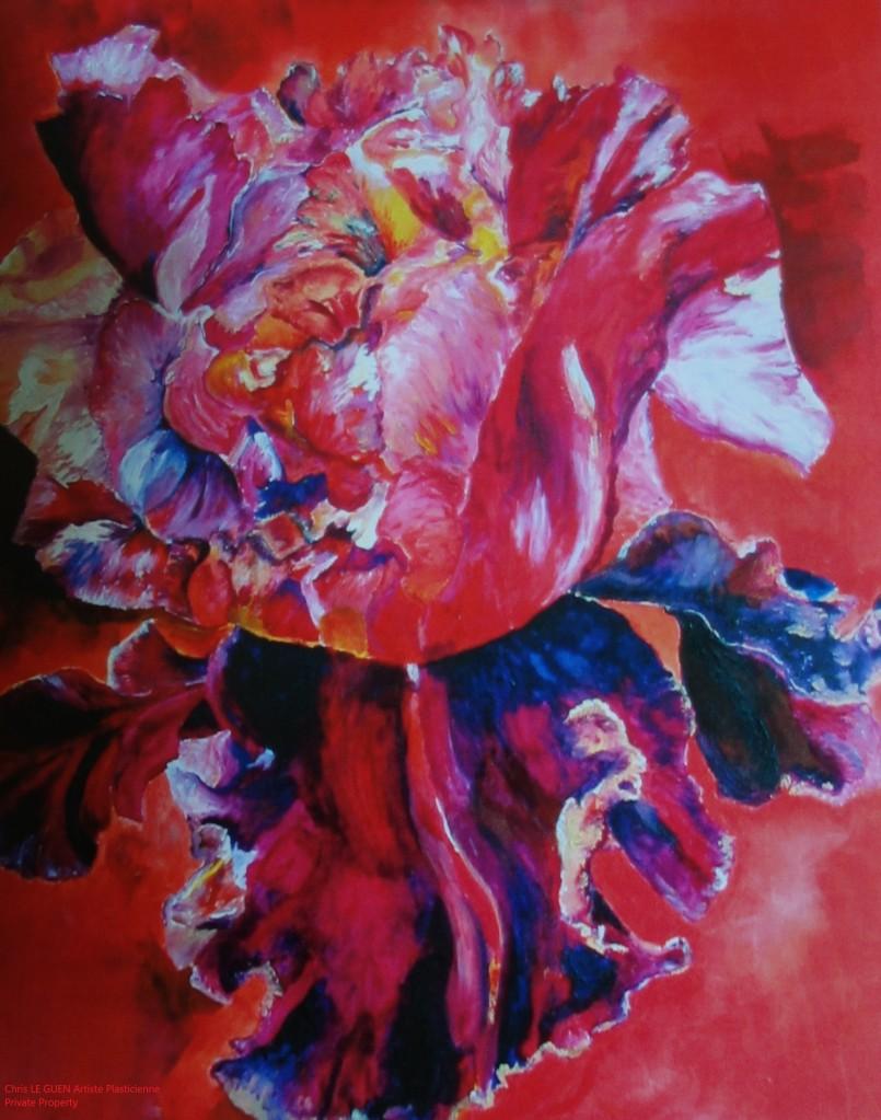 Chris Le Guen Artiste Plasticienne Peintre et Sculptrice auteur de Primaire XIV