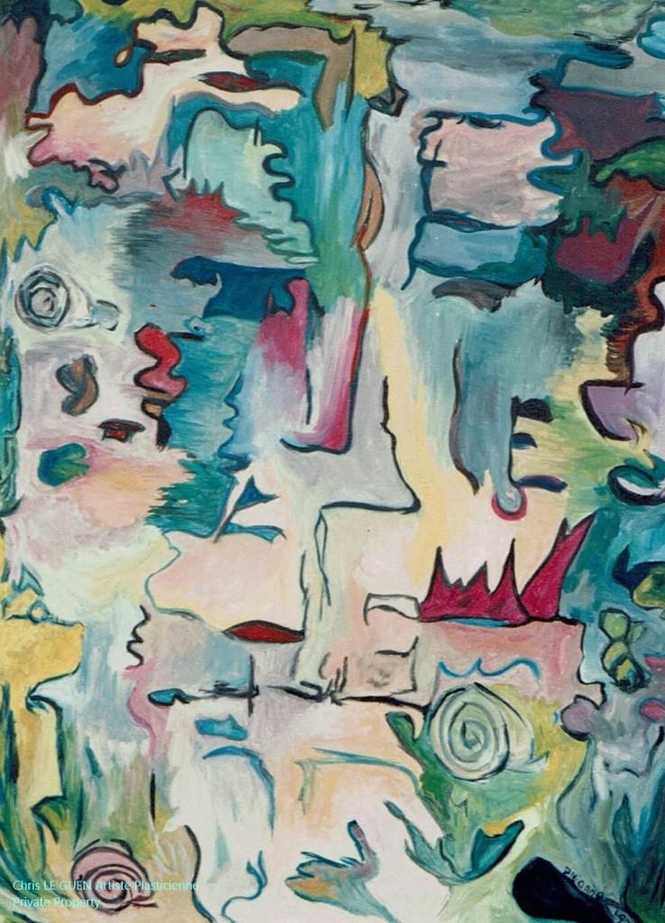 Shroud a été créé par Chris Le Guen Artiste Plasticienne Peintre et Sculptrice
