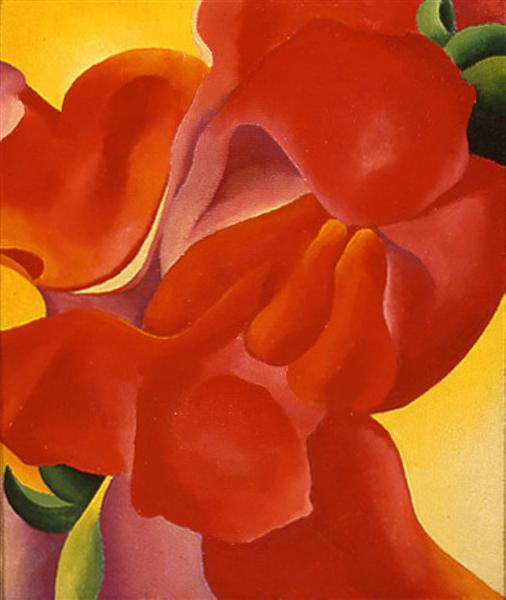 Red Canna de Georgia O'Keeffe en 1923