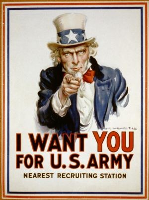 I want you U.S. Army