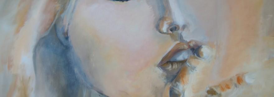 Chris Le Guen Artiste Plasticienne Peintre et Sculptrice a fait Chut