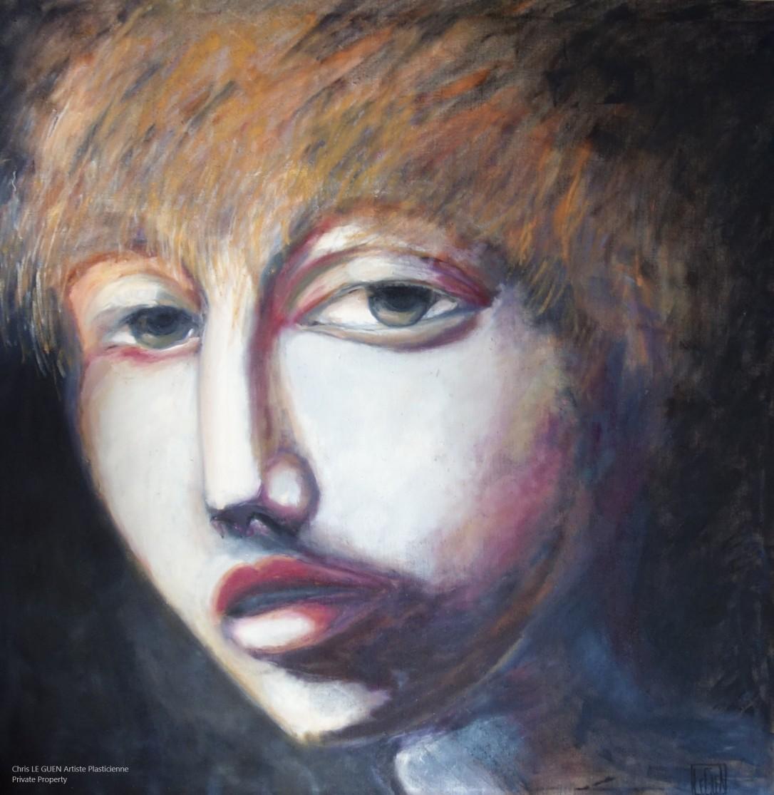 Chris Le Guen Artiste Plasticienne Peintre et Sculptrice propriétaire de Girl