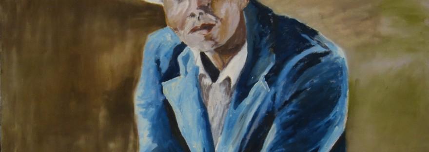 Jazzman a été peint par Chris Le Guen Artiste Plasticienne Peintre et Sculptrice