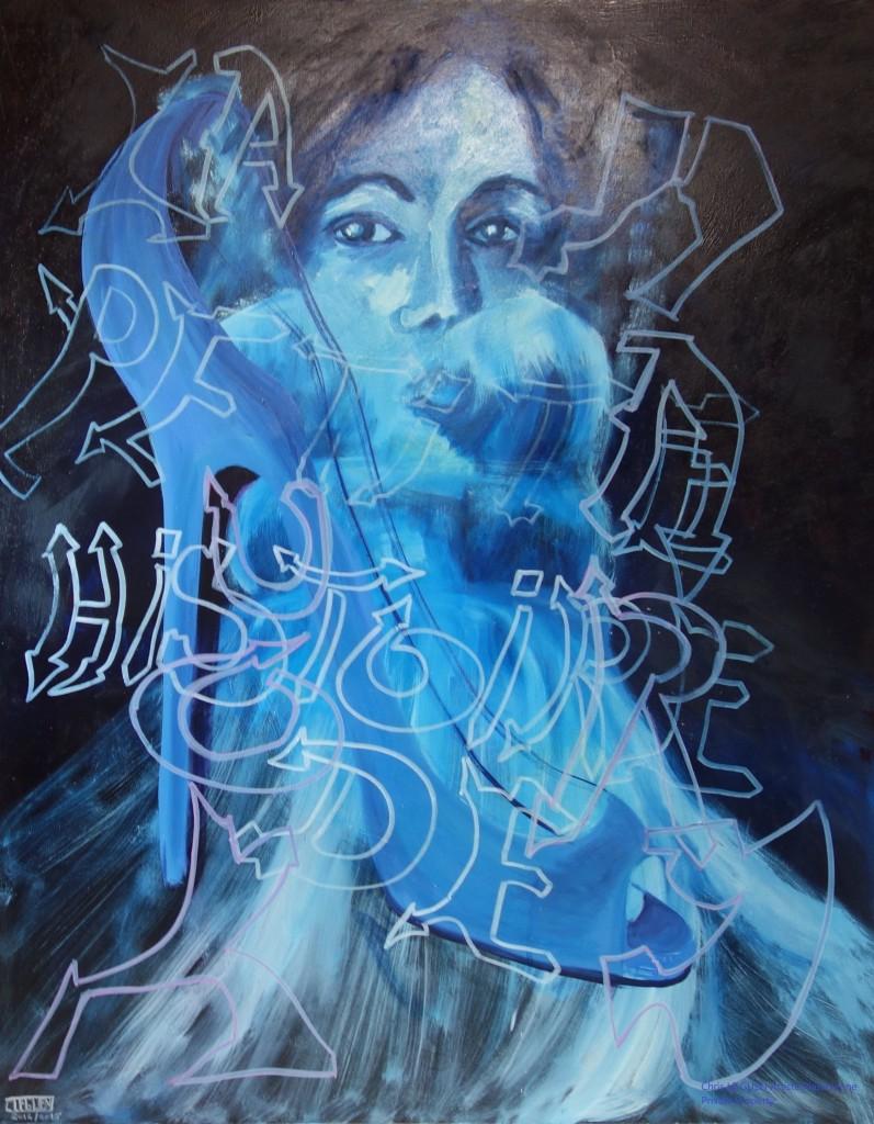 Chris Le Guen Artiste Plasticienne Peintre et Sculptrice a créé La Petite Histoire de Marilou