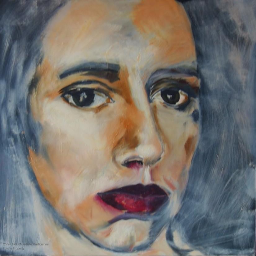 Chris Le Guen Artiste Plasticienne Peintre et Sculptrice a fait Manon