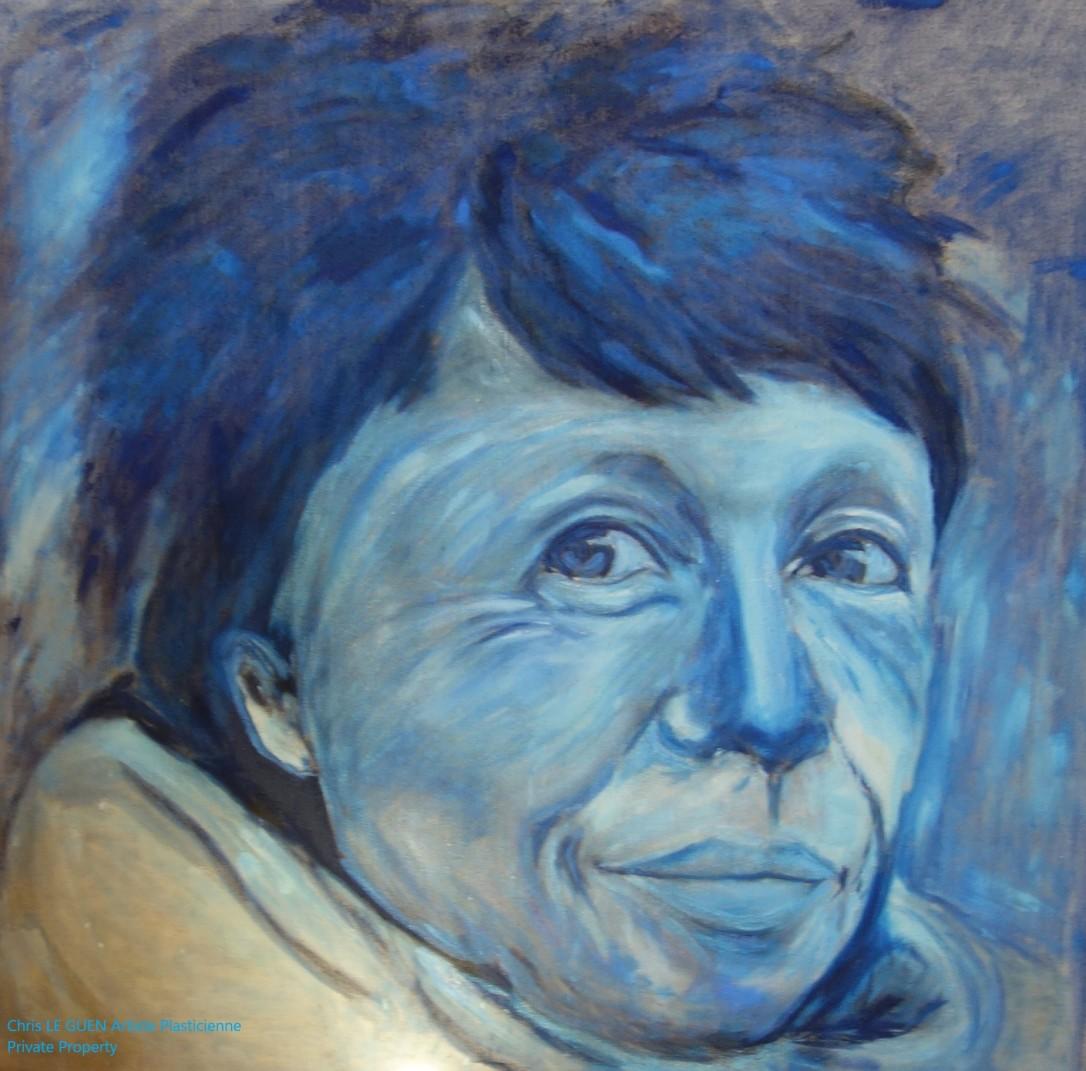 Chris Le Guen Artiste Plasticienne Peintre et Sculptrice a créé Sylvie