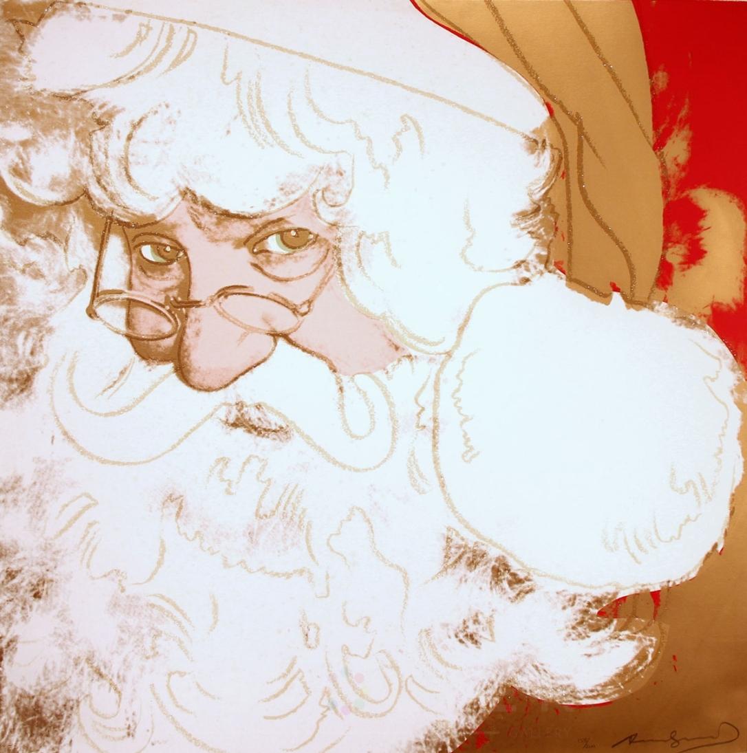 Santa Claus 266 par Andy Warhol en 1981