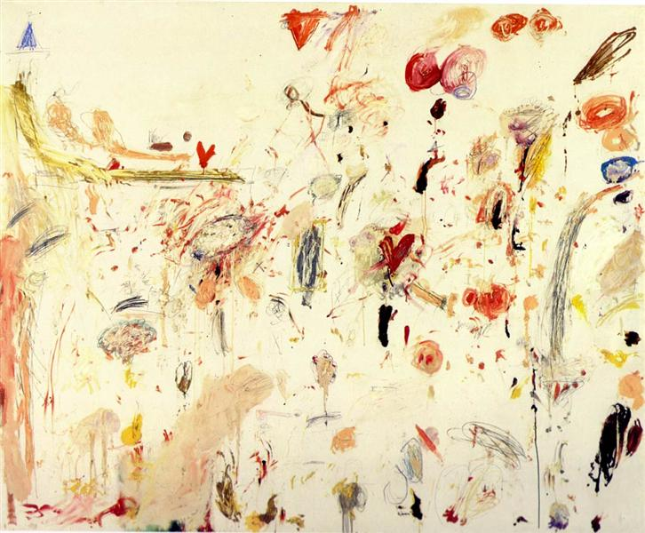 cy twombly untitled 1961